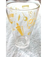 Beefeater Gin Glass Tumbler Live A Little Bareware Breweriana Man Cave - $9.99