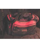Outbrook Black & Red Travel Messenger Bag Carry... - $19.99