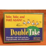 Doubletake Card Game Unpredictable Gin Ages 8 A... - $3.95