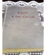 Exit a Dictator by E Phillips Oppenheim First E... - $8.99