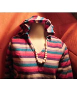 The Children's Place Pink & Purple Striped Flee... - $6.99