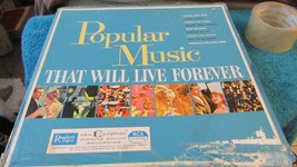 Readers Digest Popular Music Thats Live Forever - $19.99