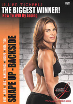 Jillian Michaels -THE BIGGEST WINNER Shape Up: Backside (DVD 2005) - $6.99