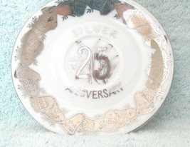 Norcrest 25th Anniversary Plate Fine China C-248 Silver Bells Collector ... - $4.99