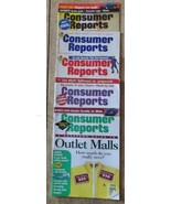 Consumer Reports 3/96, 7/96, 3/97, 8/98 and 8/99 - $9.99