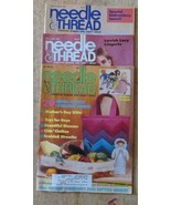 Lot of 3 - Needle & Thread Magazine - Popular Needlework - $4.99