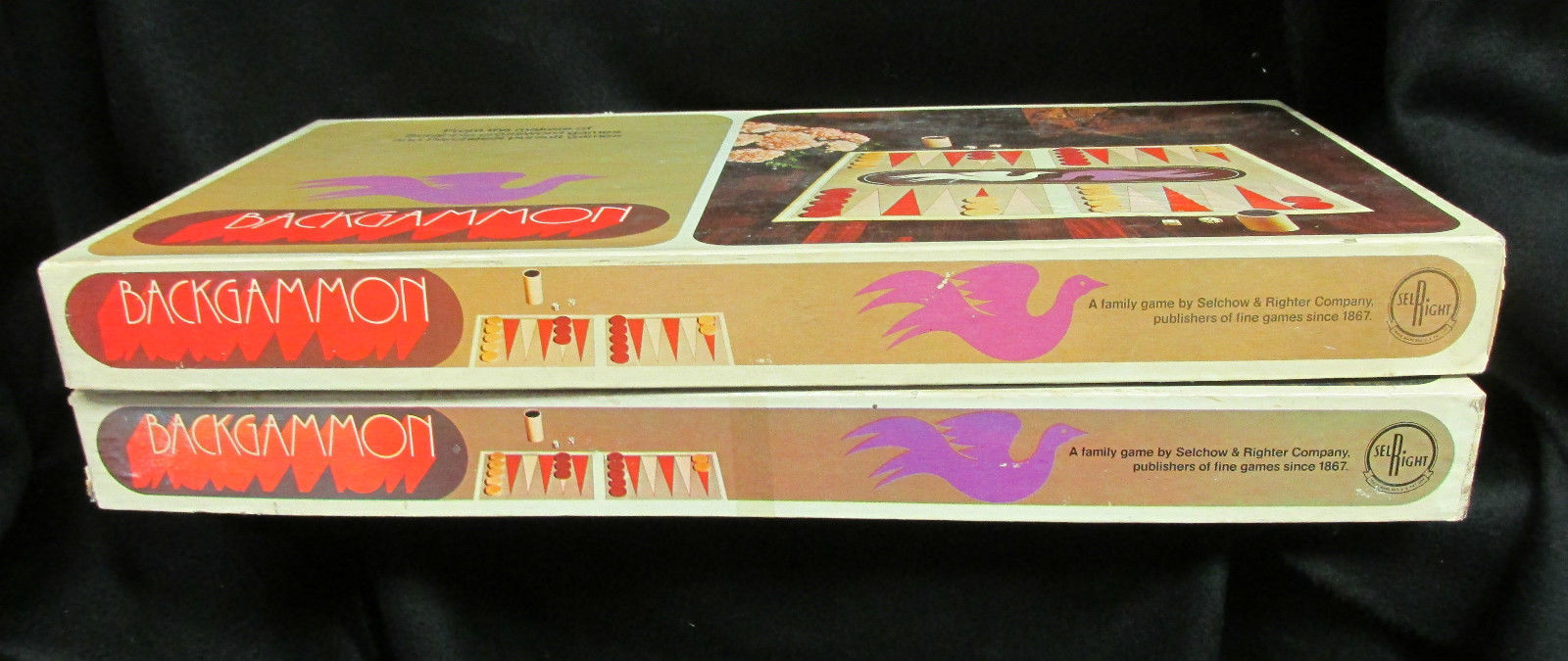 Backgammon Selchow & Righter 1975 S&R Games and similar items