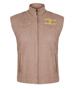 Mens Yellowstone Vest John Dutton Kevin Costner Brown Vest in Cotton Wool - $60.00+