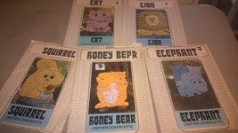 Collectible critter coverlette patterns - $10.00