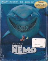 Finding Nemo Future Shop Canada Steelbook Blu-Ray + Blu-Ray 3D + DVD + D... - $59.98
