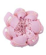 Elastic Girls Hair Bun Cover Snood Hair Net Accessories 4 Pcs, Pink - £18.13 GBP