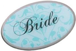Lillian Rose Aqua Bride Pin Wedding Bridal Party Gift - $19.87
