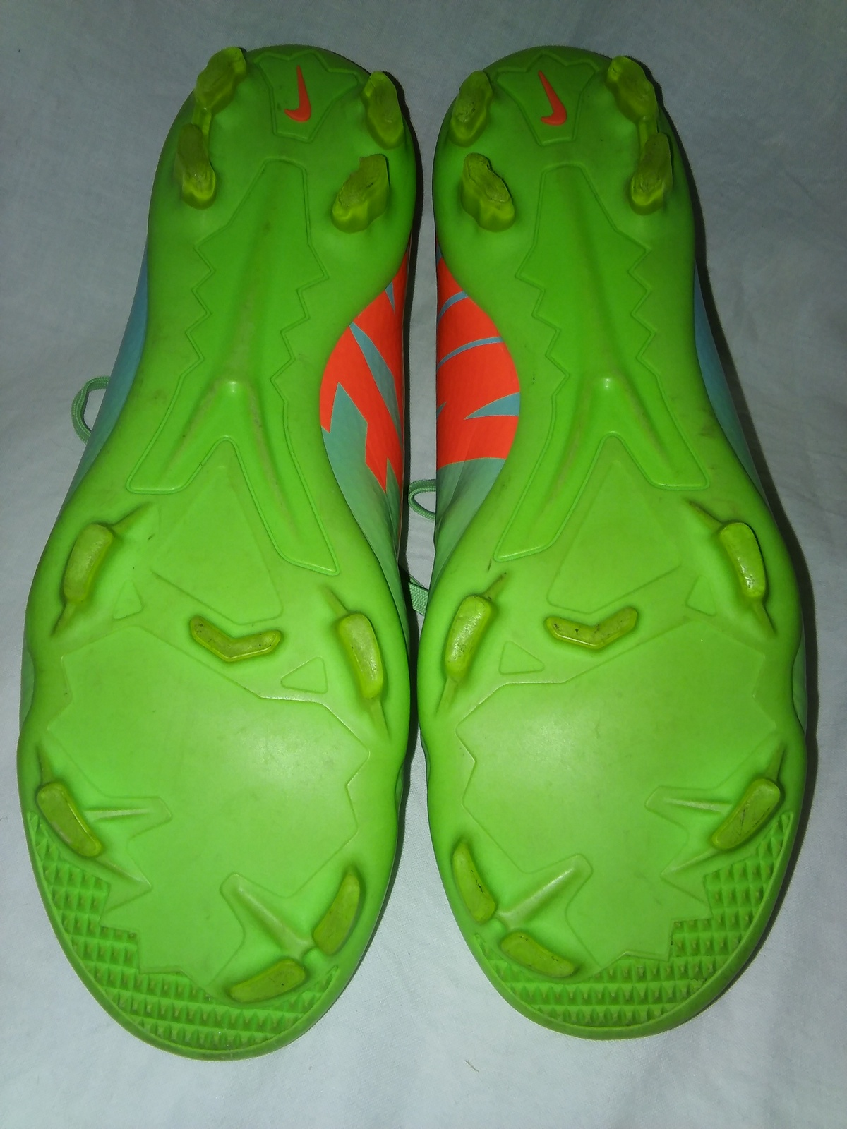 5d309c1c0f38 ... Nike Mercurial Victory TF IV Soccer Shoes Neo Lime Green Size 5 Y 555615 -380 ...