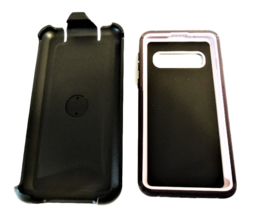 Blackweb Rugged Phone Case with Holster for Samsung Galaxy S10