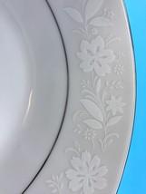 NORITAKE Ranier #6909 China White Flowers Silver Rim *YOU CHOOSE 1 PC* (... - $5.70+