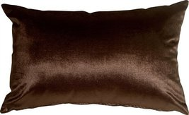 Pillow Decor - Milano 12x20 Brown Decorative Pillow - $29.95