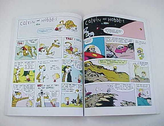 The Calvin and Hobbes Lazy Sunday Book by Bill Watterson