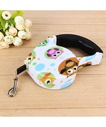 5M Owl Pet Dog/Cat Puppy Automatic Retractable Traction Rope Training Wa... - $21.78