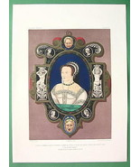 PRINCESS ELIZABETH Portrait Enamel at London Ex... - $24.70
