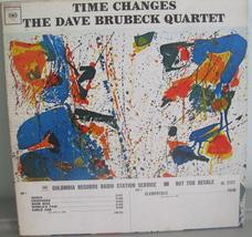 Dave Brubeck Time Changes white label promo lp jazz 1st pressing mono CL... - $7.99