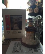 Brand new! NFL football steelers frosty the snowman statue christmas dec... - $29.99