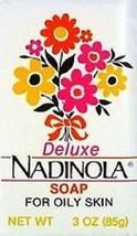 6 x De-luxe Nadinola Bar Soap From Jamaica 3oz - $49.99