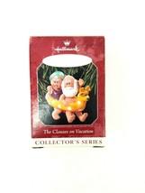 "1998 Hallmark Keepsake Ornament ""The Clauses On Vacation"" Mr. and Mrs. C... - $11.29"