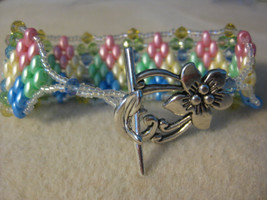 Baby Quilt bracelet.  Great for an expectant mommy, shower gift, or ever... - $18.00