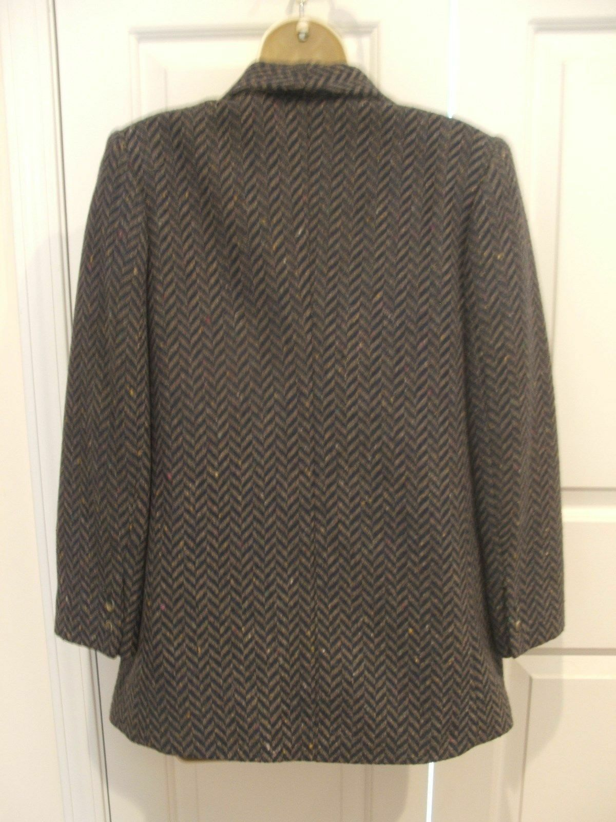 new in pkg santa cruz  CHEVRON  wool blend blazer jacket  junior size 5