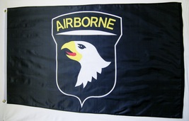 101st Airborne Division Eagles Flag 3' X 5' Indoor Outdoor Black Banner - $12.95