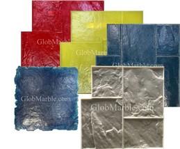 5 Werkstein Beton Stempel Set. Schiefer Zement Textur Imprint Matten Sm 3002 - $366.94