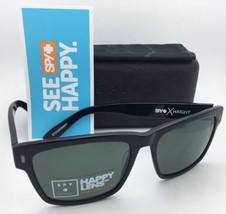 Polarized Spy Optic Crosstown Sunglasses Haight Black Frames w/Grey Green Lenses - $179.95