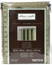 "1 Package Allen & Roth Sullivan 56"" X 84"" 0027510 Green Polyester Gromme... - $18.99"