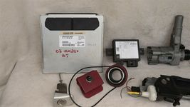 2003 Mercedes SLK230 Ignition Switch Skreem Door Trunk Glovebox Lock Key ECU ECM image 4