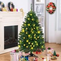 4 ft Pre-Lit Charlie Pine Artificial Christmas Tree - $66.16