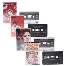 Patsy Cline Peggy Lee MCA More Great Songs of Love Heartaches Cassette T... - $14.97