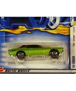 Mattel Hot Wheels 2002 1:64 Scale Green 1968 Co... - $1.99
