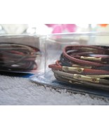 18 Goody With Metal Hair Band Elastics 2005 Ponytail Holders Old Style S... - $8.00