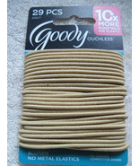 29 Blonde Goody Ouchless Skinny Ponytailer Hair Bands No Metal Elastics ... - $10.00