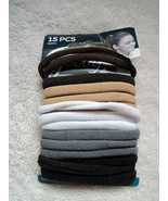 15 Goody Ouchless Gentle Fit Terry Fabric Hair Band Elastic Ponytail Hol... - $8.00
