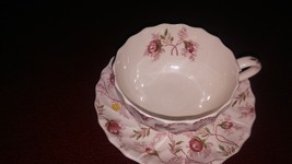 Copeland Rosebud Chintz cup and saucer - $35.99