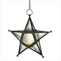 Clear Glass Star Lantern - $16.99