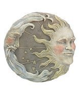 Gifts & Decor Celestial Sun Moon Star Wall Plaque (Discontinued by Manuf... - $14.49