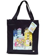 Canvas Tote Bag European Inspired Cafe Tote Deux Lumps Cafe Bag - $8.00