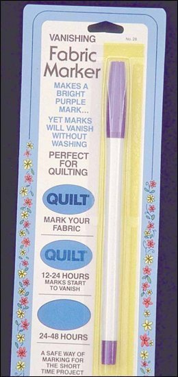 8568 air erasable fabric marker