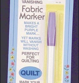 Fabric Marker Air Erasable purple felt tip marker cross stitch Pyrm-Dritz