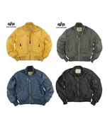 NEW GENUINE ORIGINAL ALPHA INDUSTRIES PROP JACKET - $119.23