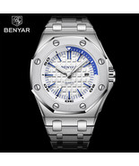 BENYAR Top Brand Luxury Men Watches Fashion Casual Waterproof Male Quart... - $46.13
