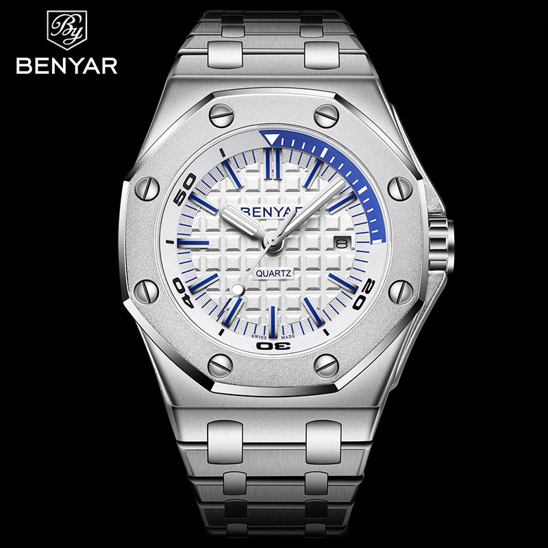 Primary image for BENYAR Top Brand Luxury Men Watches Fashion Casual Waterproof Male Quartz Watch