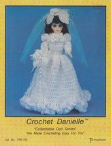 Danielle, Td Creations Crochet Fashion Doll Clothes Pattern Booklet PRE-753 - $4.95
